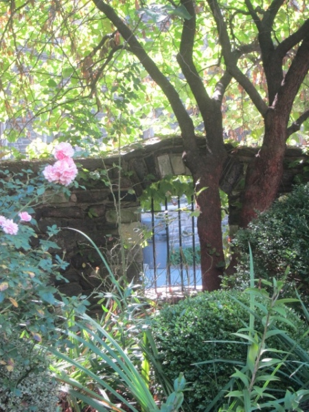 secret garden in new york city