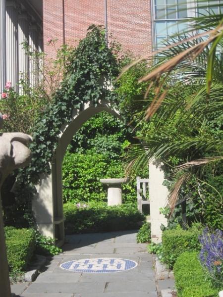 entrance to st john biblical garden