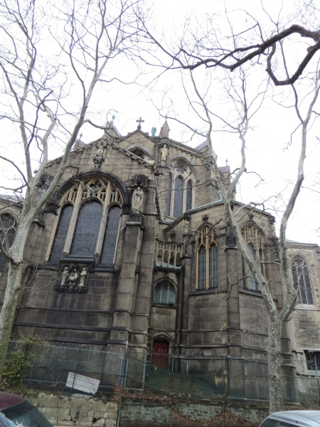 St. John the Divine, as seen from