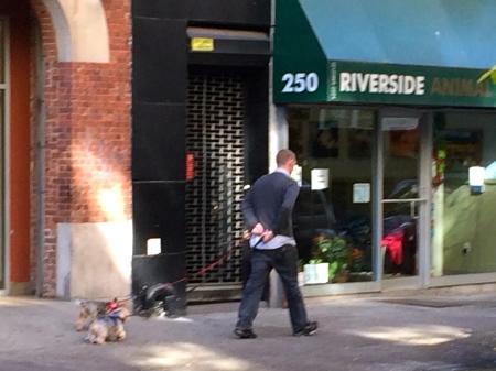 Walking west on W. 108th Street.