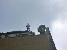 Roof Human, Riverside Drive